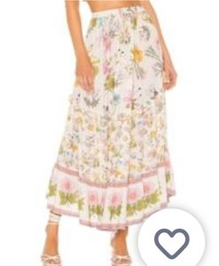 Lowest Price listed!! Wild Bloom Maxi Skirt